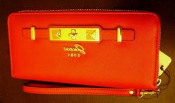 Guess 1981 Red Cherie SLG Style VG711546 woman's wallet coin