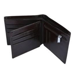 2019 YOOMALL Men's Leather Wallet Bifold Wallet with Coin
