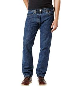 Levi's Men's 501 Original Fit Jean, Dark Stonewash, 36x30