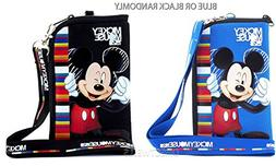 Disney Mickey Mouse Pouch and Lanyard