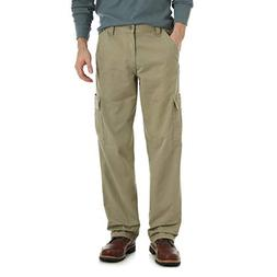 Wrangler Men's Authentics Classic Cargo Pant, British Khaki