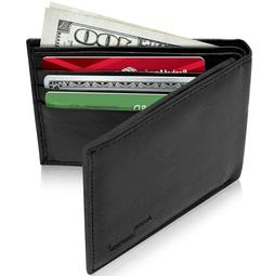 Brand New Genuine Leather Mens Wallets Credit Card Holder Fo