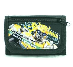 Bumblebee Wallet Kids Boys Toddlers Autobot Car Robots Trans