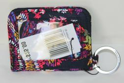 Vera Bradley Campus Double ID in Midnight Wildflowers NWT $2