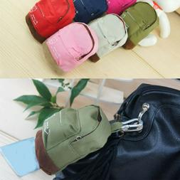 Canvas Mini Floral Backpack For Women Girls Kids Cheap Coin