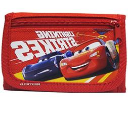 Disney Car Strikes Authentic Licensed Children Trifold Walle