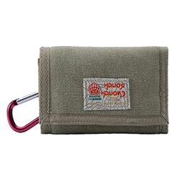 classic durable mini canvas wallet