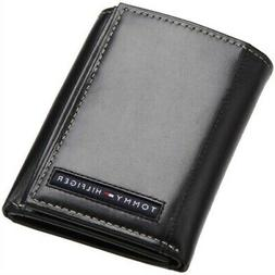 Tommy Hilfiger Classic Leather Credit Card Id Trifold Wallet