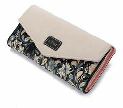 Clutch Wallets For Girls Ladies Female Women Purse Card Hold