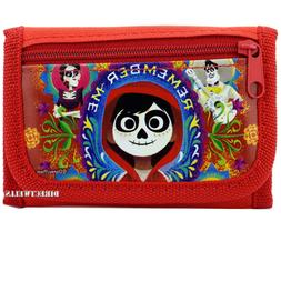 Disney Coco Family Authentic Licensed Canvas Trifold Red Wal