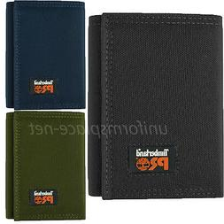 Timberland Pro Cordura Nylon Wallet Men Trifold RFID Stop Id
