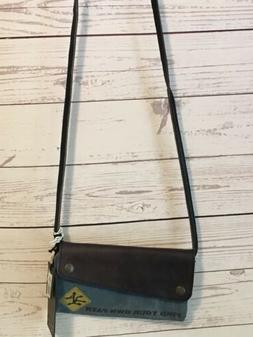 Mona B Crossbody Wallet Purse Find Your Own Path Upcycled Re