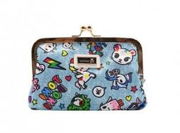 Tokidoki Denim Daze Summer Collection Woman Kisslock Coin Pu