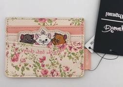 Loungefly Disney Aristocats Floral Kitties Marie Cardholder
