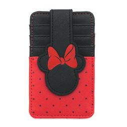 Loungefly Disney Minnie Mouse Faux Leather Cardholder & ID W