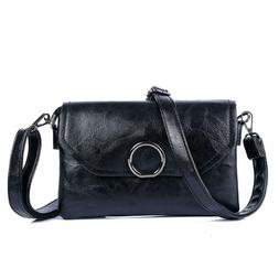 Double Compartment Small Crossbody Bag for Women Flapover Ce