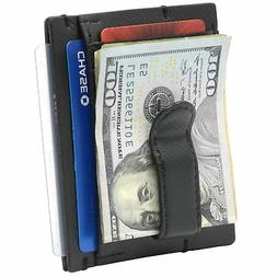 double diamond mens rfid money clip minimalist