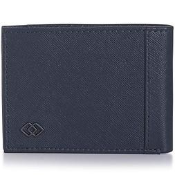 Alpine Swiss Double Diamond Men's RFID Slim Bifold Crossha