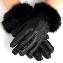 Alpine Swiss Womens Dressy Gloves Genuine Leather Thermal Li