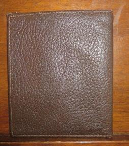 EUC Men's Kid Leather 10 Credit Card / Business Card Holder