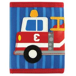 Stephen Joseph Firetruck Wallet , New, Free Shipping