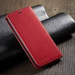 "Flip Cases - Leather Flip Case for iPhone Xs Max Case 6.5"" W"