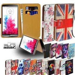 Flip Leather Wallet Stand Cover Phone Case For LG Stylo 2 3