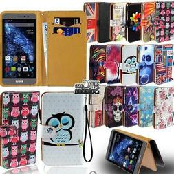 Flip Leather Wallet Stand Cover Phone Case For BLU G5 G6 G8
