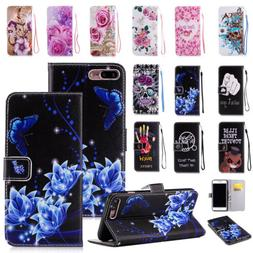 Flip Pattern Leather Case Wallet Stand Cover For iPhone 11 P