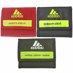 adidas Football Team Canvas Trifold Wallet Germany Spain Rea