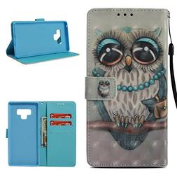 Galaxy Note 9 Case, ZERMU 3D Cute Pattern Shockproof Premium