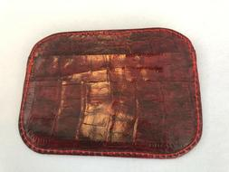 Genuine Alligator Front Pocket Wallets for Men and Women --