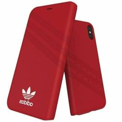 Genuine Adidas  Booklet Case Cover for Apple iPhone Xs/X  -