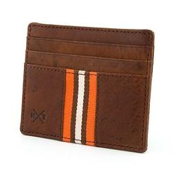 Genuine Leather Credit Card Holder Wallet - Slim Design - CL