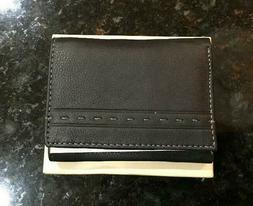 Estalon Genuine Leather Mens Wallet RFID Blocking Slim ID Ho