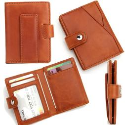 Genuine Leather Wallet with Money Clip Wallet Men Wallet 5