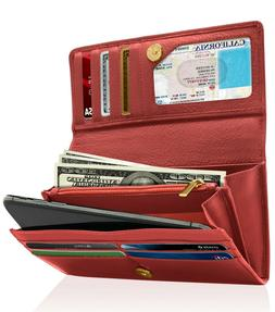 genuine leather wallets for women s ladies