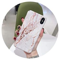 Hard Marble Pattern Phone Case for iPhone 7 8 Plus X Xs Max