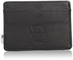 Herschel Supply Co. Men's Charlie Wallet + Tile, Black, One