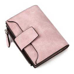 High Quality Bifold Cash Cards Slots Money Zipper Wallet for