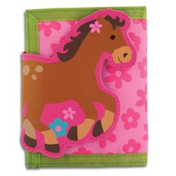 Stephen Joseph Girls Horse Wallet