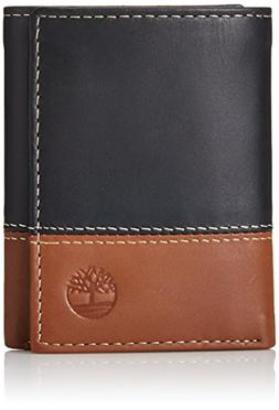 Hunter Two-Tone Trifold Wallet