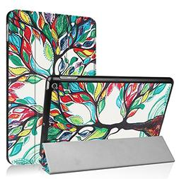 iPad 9.7 2018/2017 Case, UZER Colored Drawing Series Ultra S