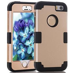 iPhone 5S/SE Case, MCUK    Hybrid Best Impact Defender Cover