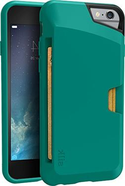 Silk iPhone 6/6s Wallet Case Green Vault Thin Cash Card Cove