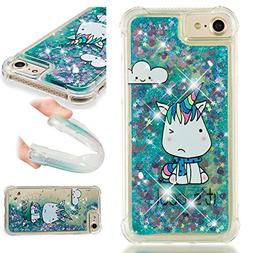 iPhone 8/7/6S/6 Case, UZER Shockproof Series Cartoon Cute Bl