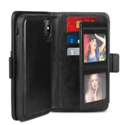 iPhone 8 Wallet Leather case New Released Magnetic Real Leat
