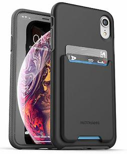 iPhone XR Wallet Case Credit Card ID Holder Protective Cover