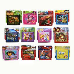 Kids Licensed BIFOLD WALLET Disney Marvel Nickelodeon NonWov