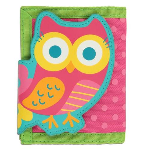 quilted owl purse wallet